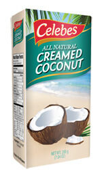 Creamed Coconut - Celebes Oil Mill Incorporated